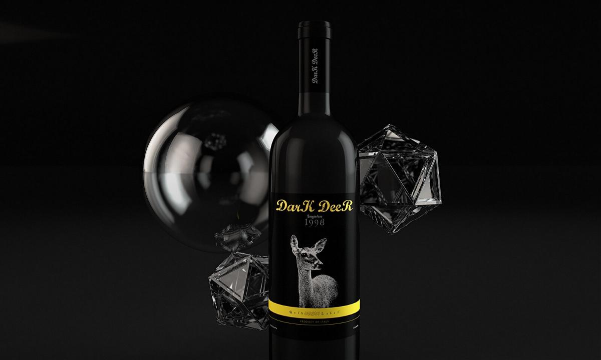 DarK DeeR 红酒包装设计