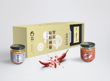 吳狄媽媽辣椒醬logo、vi、包裝設計