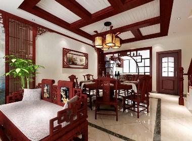 熊攀云设计-别墅-中式风格设计