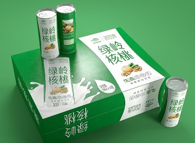 绿岭核桃生态核桃乳——徐桂亮品牌设计