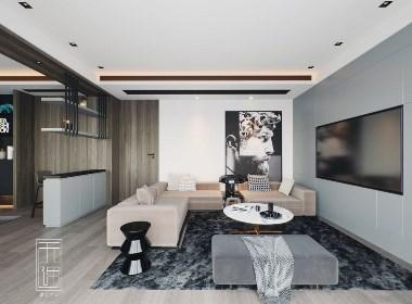 现代起居室