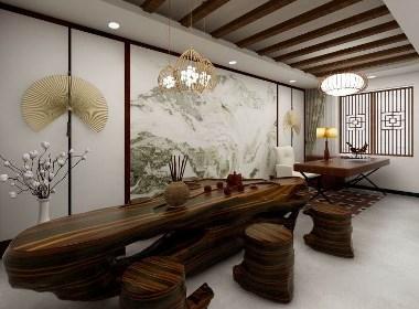 郑州茶楼设计装修-茶楼会馆设计