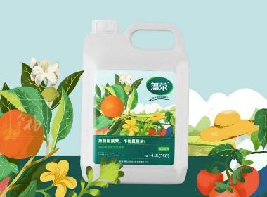 农业桶装肥品牌包装设计|青柚设计原创作品