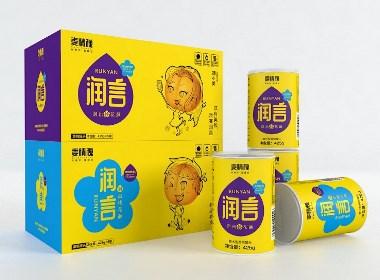 润言黄桃罐头包装设计-瑞智博诚品牌设计