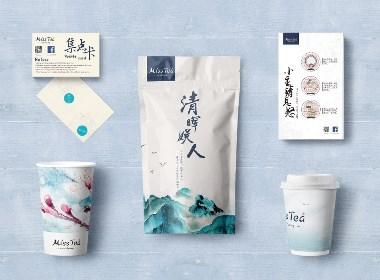 品牌丨MISS TEA品牌设计提案丨茶饮