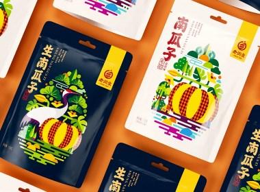 高鵬設計——南瓜子堅果包裝設計