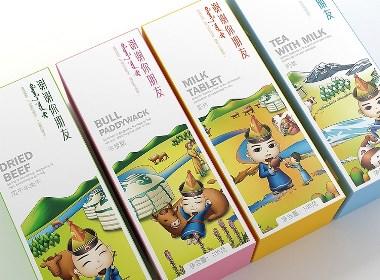 内蒙牛肉制品——徐桂亮品牌设计