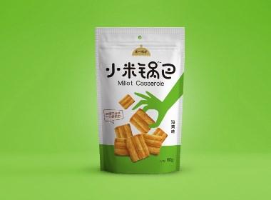 小米鍋巴包裝設計