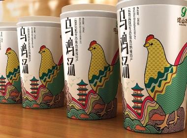 农产品包装设计 土鸡蛋包装设计 滚山鸡系列产品包装设计