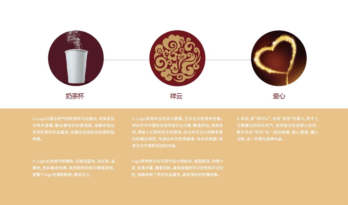 禾优奶茶品牌全案设计