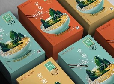 大米包装设计——安米之乡愁系列