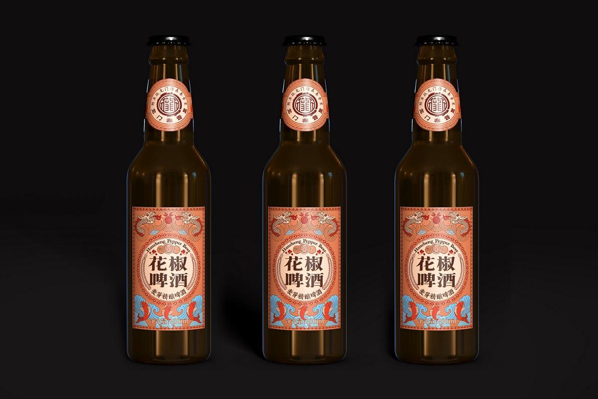 你喝過花椒啤酒嗎?——厚啟設計|龍門秦晉里啤酒包裝設計