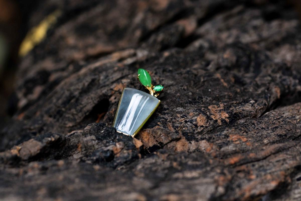 爱上植物|盆栽绿芽吊坠