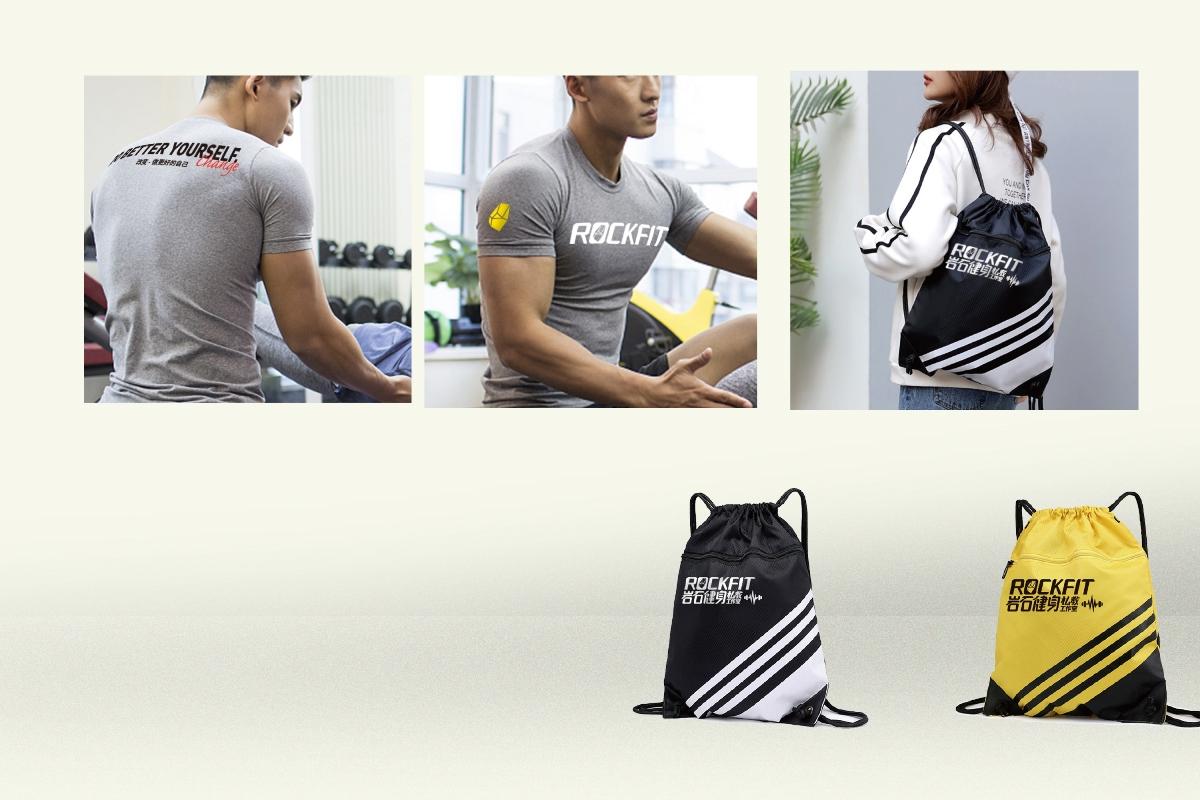 岩石健身私教工作室品牌识别设计
