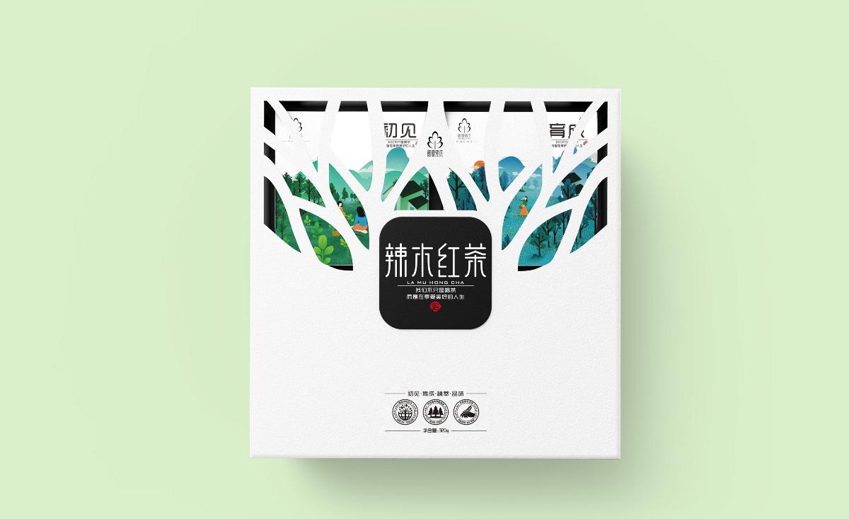 辣木花茶包装设计