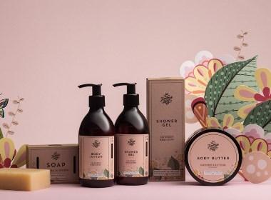 美美哒手工皂品牌包装设计