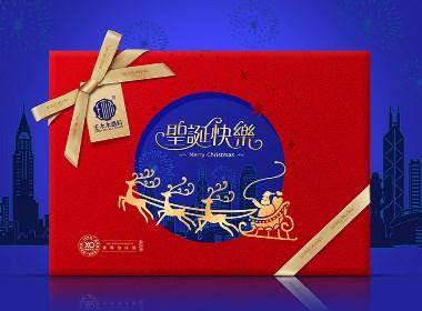 圣诞节礼盒包装设计-深圳圣智扬包装设计案例