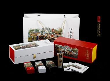 海南旅游文创产品——临高红米糟包装设计