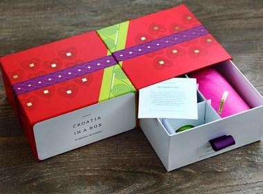 Croatia in a Box礼品包装设计