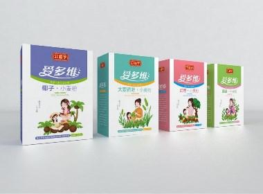 红福字面粉包装-瑞智博诚品牌设计