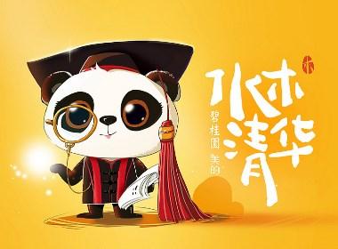 卡通形象-熊猫博士
