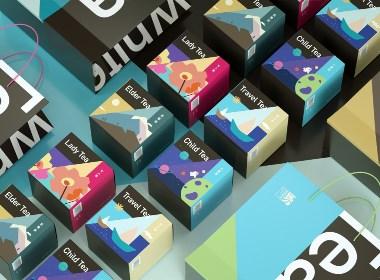 《 LIDA TEA 》茶葉品牌包裝設計系列