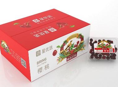 星优选枝头红钻樱桃——徐桂亮品牌设计