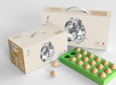 土鸡蛋品牌包装设计【黑马奔腾策划设计】