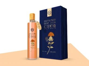 朴地红花籽油包装设计-【深圳圣智扬包装设计案例】