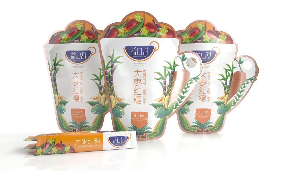 益口甜红糖—徐桂亮品牌设计