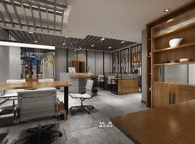 楼兰设计办公室装修设计效果图赏析