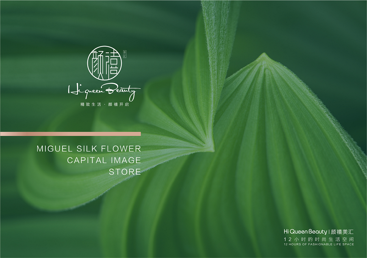颜禧美汇 · HIQUEEN BEAUTY-三明品牌设计