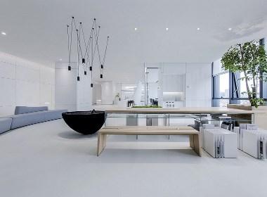 极简主义的办公空间
