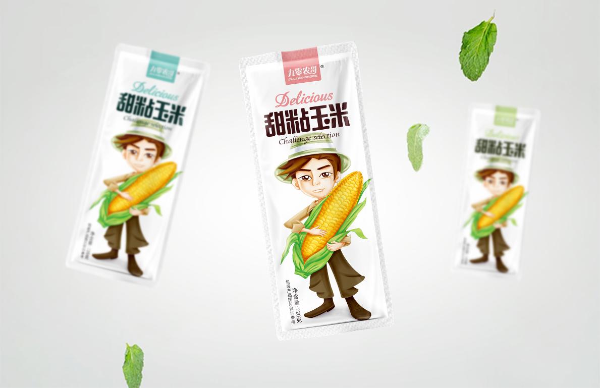 九零农哥--甜粘玉米