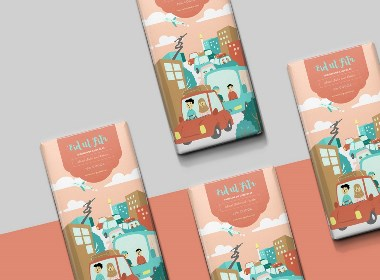 俄罗斯巧克力品牌包装设计