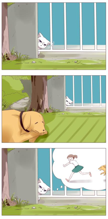 手绘短篇漫画