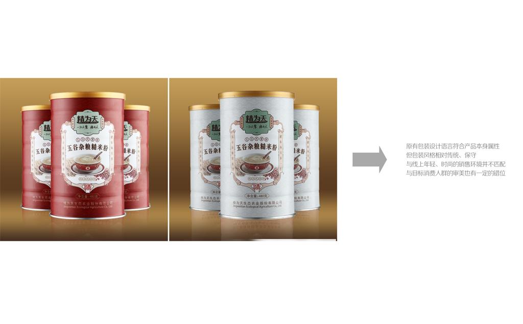 代餐粉包装设计 五谷粉包装设计 营养食品包装设计