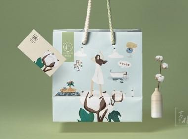 住在云朵里-毛巾品牌全案设计-青柚设计原创作品