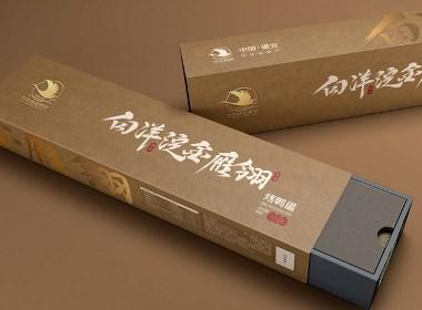 特产包装:白洋淀烤鸭蛋产品包装设计