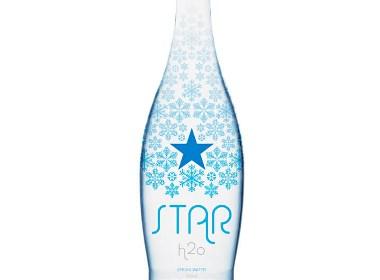 Star H2O 矿泉水品牌包装设计