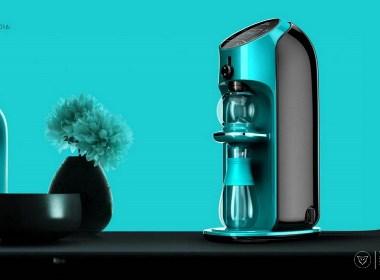 家电设计 简约时尚的智能泡茶机设计