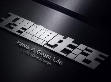 理想生活字体设计