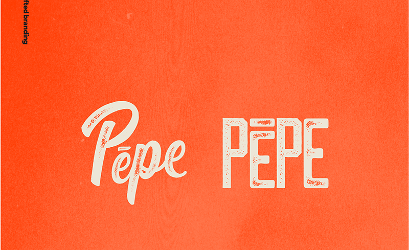 Pepe Drinks   Handmade饮品包装设计