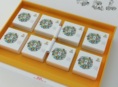 海南老字号精品粽子包装设计