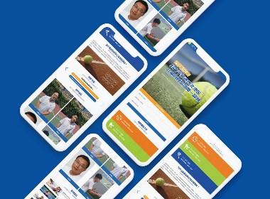 【Morse design】陕西西安古网今来网球官网设计