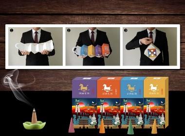 武威礼物旅游文创产品系列设计(银奖作品)