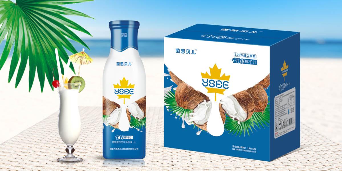椰子汁包装设计生活爱爱设计图片