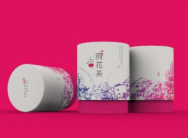 梅香雨花茶丨包装设计