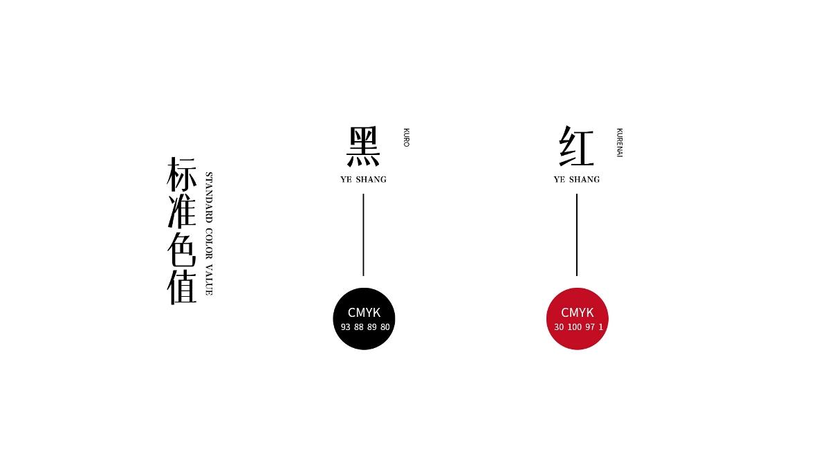野尚 日式火锅 logo设计