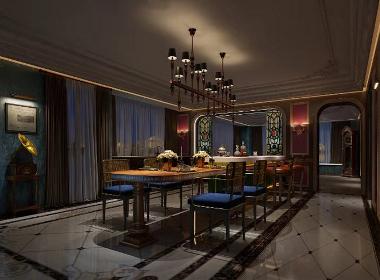 珠海传家装饰高端家装案例 | 红树湾设计施工